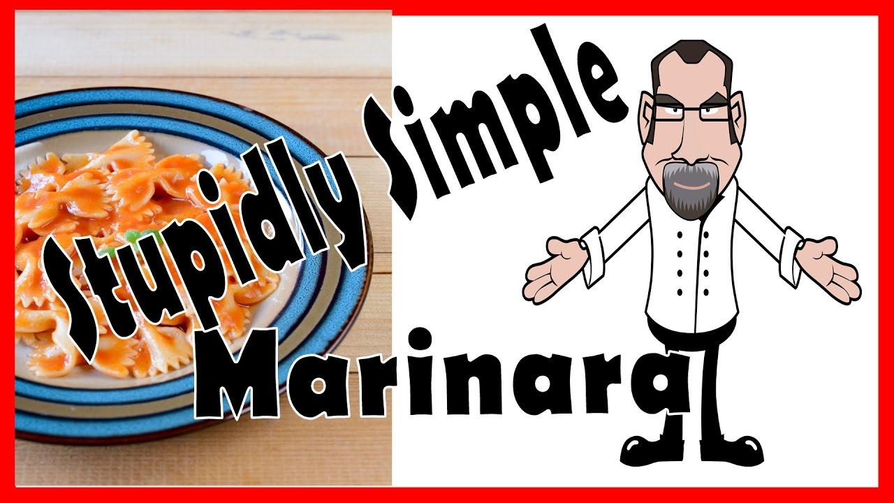 How I made Classic Marinara Sauce