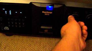 DEMO SONY CDP-CX355 300-DISC MEGA STORAGE CD CHANGER JUKEBOX