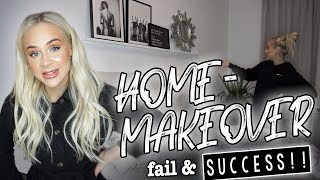 HOME MAKEOVER fail and SUCCESS!!