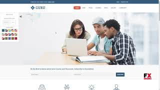 Guru Learning Management WordPress Theme Mason Weldon