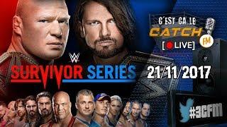 [3CFM LIVE] Analyse de WWE Survivor Series 2017 & NXT TakeOver War Games thumbnail