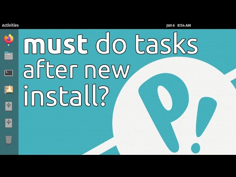 5 Things You MUST DO after Installing Pop!_OS 20.04 LTS