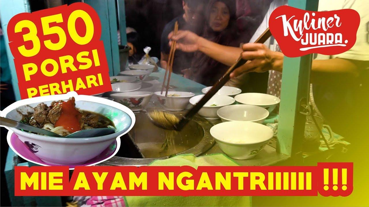 Mie Ayam Juara Di Bandung Yang Beli Rela Ngantriii Enak