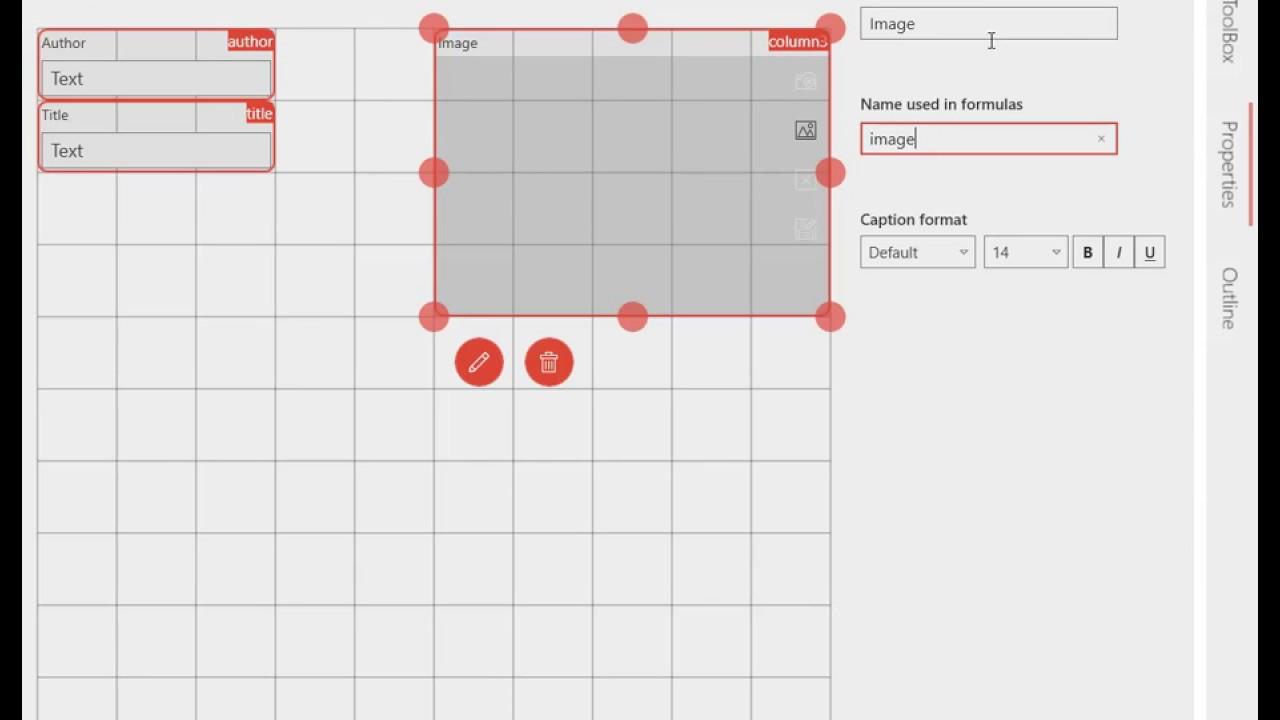MobiDB database app for Windows - good app for creating custom databases