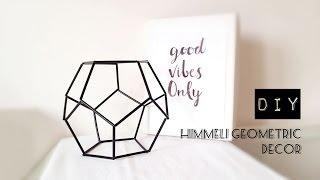 DIY himmeli geometric decor