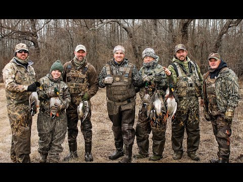 Arkansas Duck Hunt Jan 2018 - Buckshot Lodge