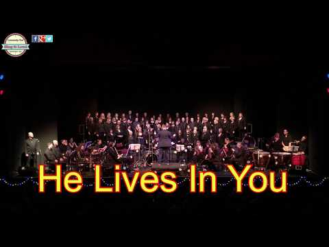 Sing it loud choir - January 2018 Spa Centre - He Lives In You