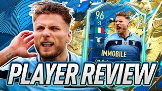 ONLY 96... EA?! 😤 96 TOTSSF IMMOBILE PLAYER REVIEW! - FIFA 20 Ultimate Team