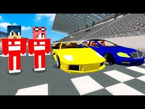 Minecraft ITA - DIVENTIAMO DEI PILOTI DI FORMULA 1