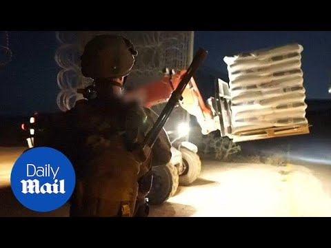 Israel Delivers Humanitarian Aid To Syrians - Army