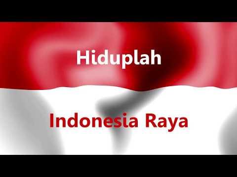 Lagu Kebangsaan Indonesia Raya Instrumen dengan Teks (FULL HD)