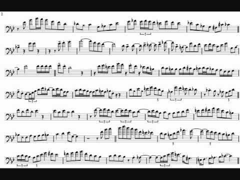 Carl Fontana 'Baby It's Cold Outside' Trombone Solo Transcription