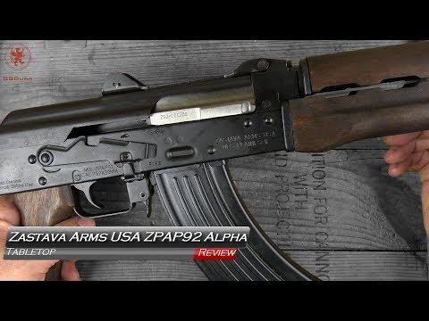 Zastava Arms USA ZPAP92 Alpha AK Pistol Tabletop Review and Field Strip