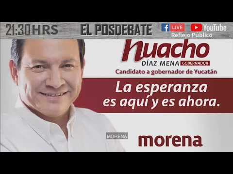 Primer debate de candidatos a la gubernatura de Yucatán - Pulso Electoral