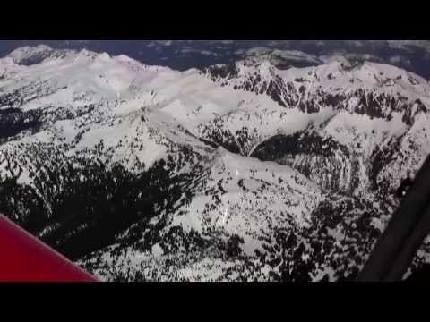Flight Over Washington Mountains To Visit Sonex #1320