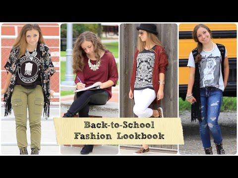 2014 Back To School Fashion Brooklyn And Bailey Youtube