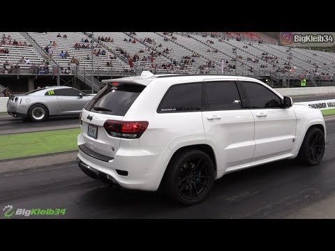 10 Second Jeep Trackhawk Roll And Dig Racing Dragtimes Com
