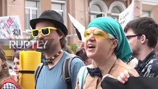 Ukraine: Police detain far-right protesters disrupting gay pride in Kiev