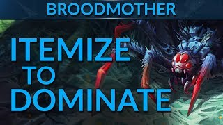 Broodmother: Itemize to CRUSH Your Games | Dota 2 Guide