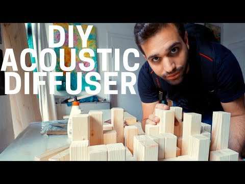HOW TO BUILD A DIY ACOUSTIC DIFFUSER