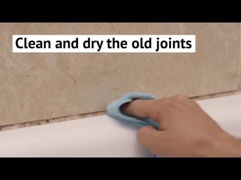 Renew your bathroom sealants