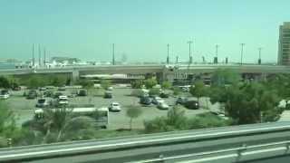 2015/9/22 UAE ジュメイラ・モノレール(Palm Jumeirah Monorail)