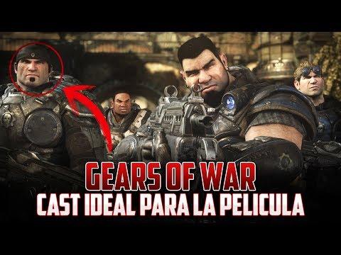Gears of war | Cast de Personajes para la Película!!