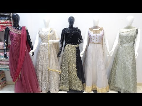 Designer Gown Wedding Collection | Long Gown, Crop Top, Designer Dresses Factory Manufacturer