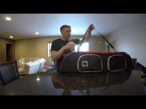 Striker Ice Transporter Bag Fishing Rod Case Review