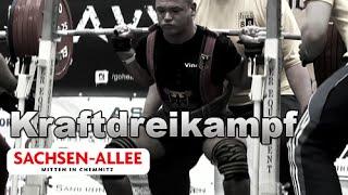 Kraftdreikampf Teaser zur EM 2015 in Chemnitz