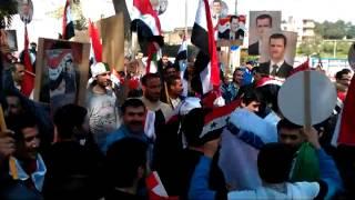 الجالية السورية في الجزائر تؤكد وقوفها الى جانب سوريا