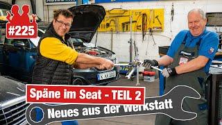 Späne im Seat - VW kalkuliert mit 8.000 EUR! 🤑 Wir versuchen es für die Hälfte - Live-Reparatur!