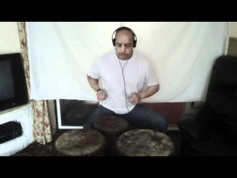 Joe African Drumming - Music Drum Workshop 2 Audio Zoom Q3HD Liverpool Drummer