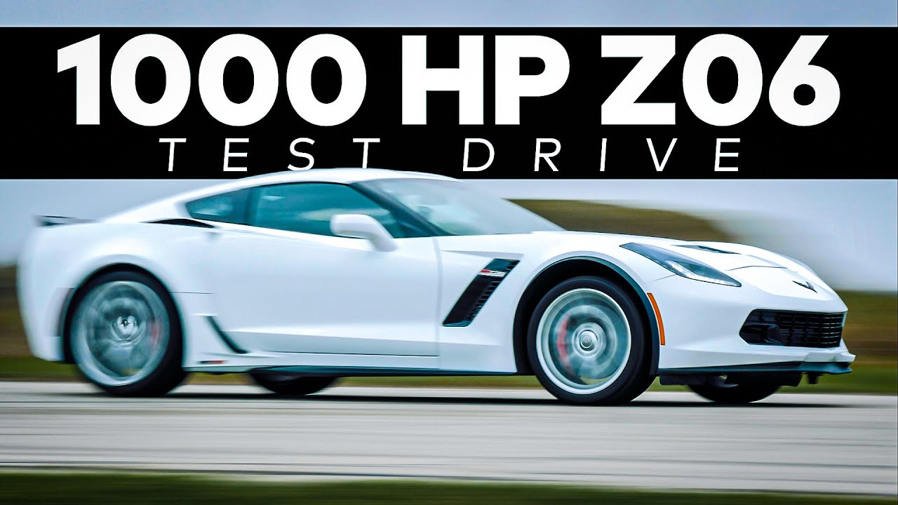 HPE1000 Z06 Corvette by Hennessey // TEST DRIVE!