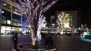 郡山駅 イルミネーション ビッグツリーページェント・フェスタ in KORIYAMA