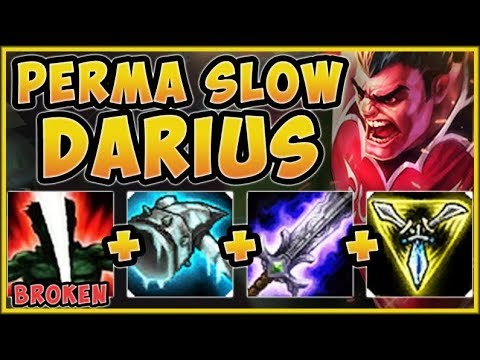 WTF RIOT! 100% NO ESCAPE DARIUS IS SO STUPID! DARIUS SEASON 9 TOP GAMEPLAY! - League of Legends