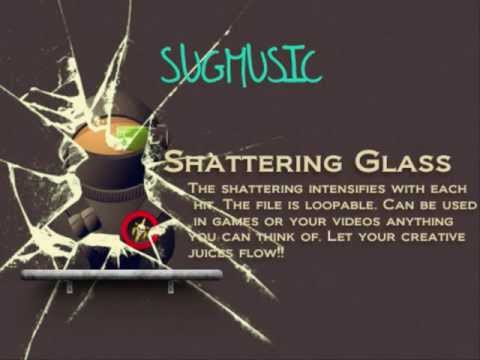 Glass Shattering Sound Effect Youtube