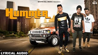 Hummer (Lyrical Audio) Dilpreet ft. Harry Nawaab | New Punjabi Song 2018 | White Hill Music