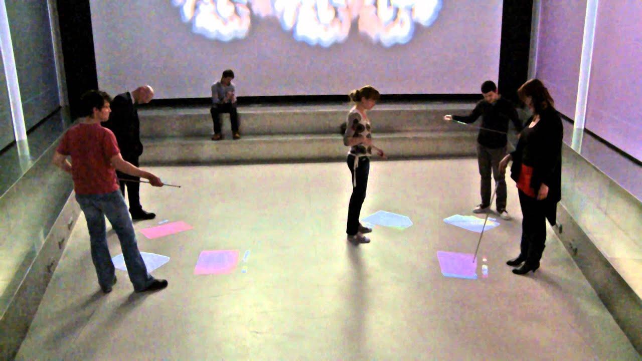 TRACES   Interactive Floor Installation   YouTube