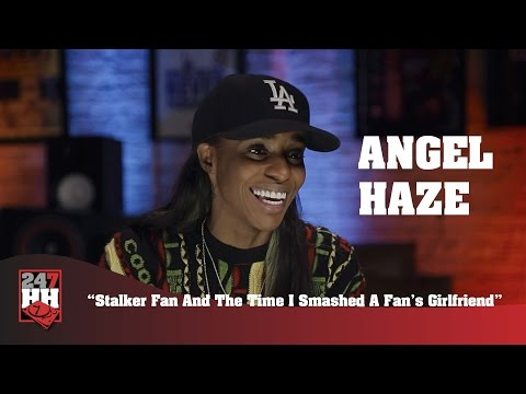 Angel Haze - Stalker Fan And The Time I Smashed A Fan's Girlfriend (247HH Wild Tour Stories)
