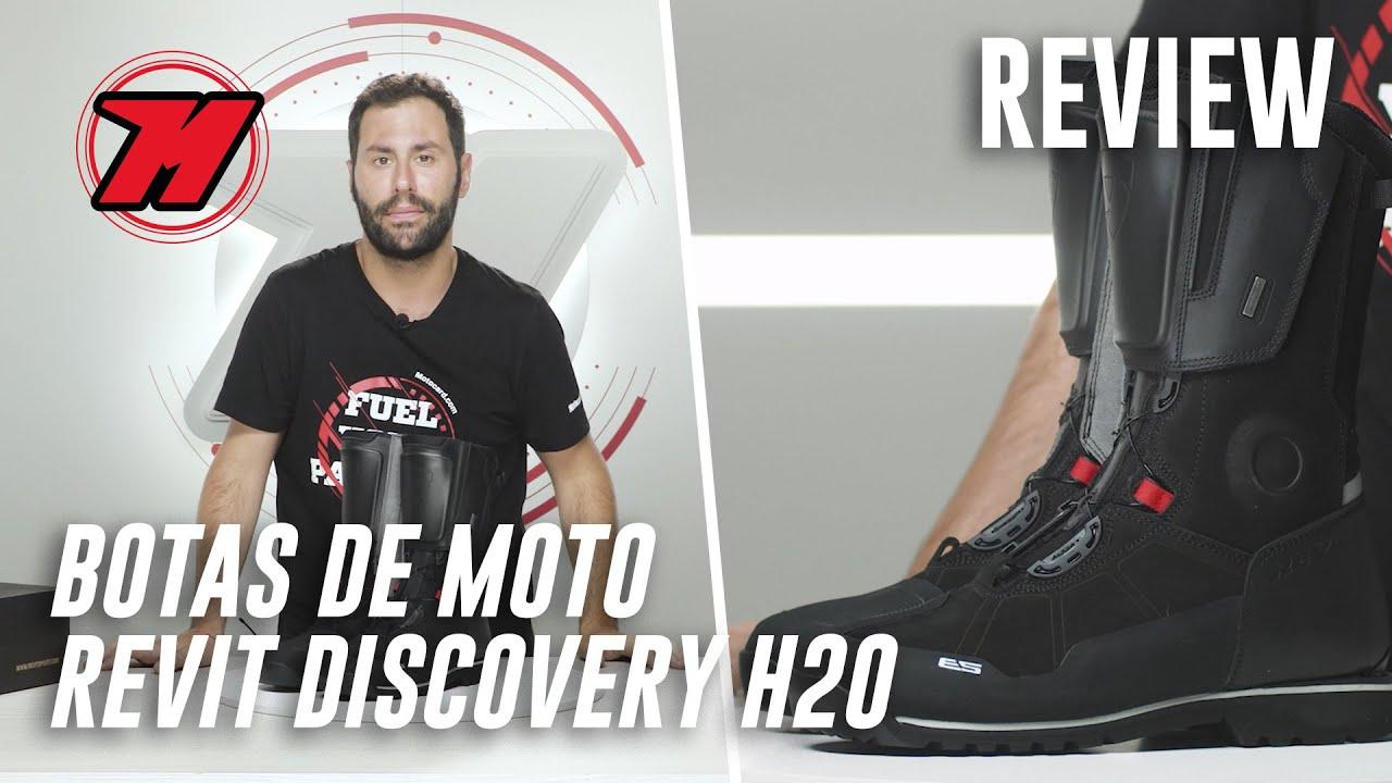 Fatídico Contaminar metálico  Review! Botas de MOTO ADVENTURE Revit Discovery H2o. ¿Las mejores? 🥾 -  YouTube