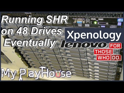 Enabling SHR on High End XPEnology DIY Hardware - 614