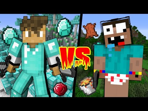 STUPID Noob VS LEGENDARY Pro - Minecraft Machinima