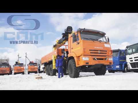Ка работать манипулятором? Бортовой автомобиль КАМАЗ-43118 с КМУ SCS 866 LS TOP с буровой навеской.
