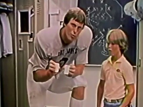 Ivory Soap with Quarterback Pro Bert Jones 1982 TV Commercial HD