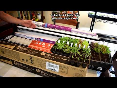 how-to-find-&-use-inexpensive-led-grow-light-tubes:-replace-fluorescent-bulbs-&-reuse-fixtures