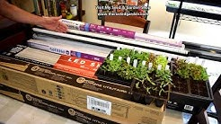 How to Find & Use Inexpensive LED Grow Light Tubes: Replace Fluorescent Bulbs & Reuse Fixtures