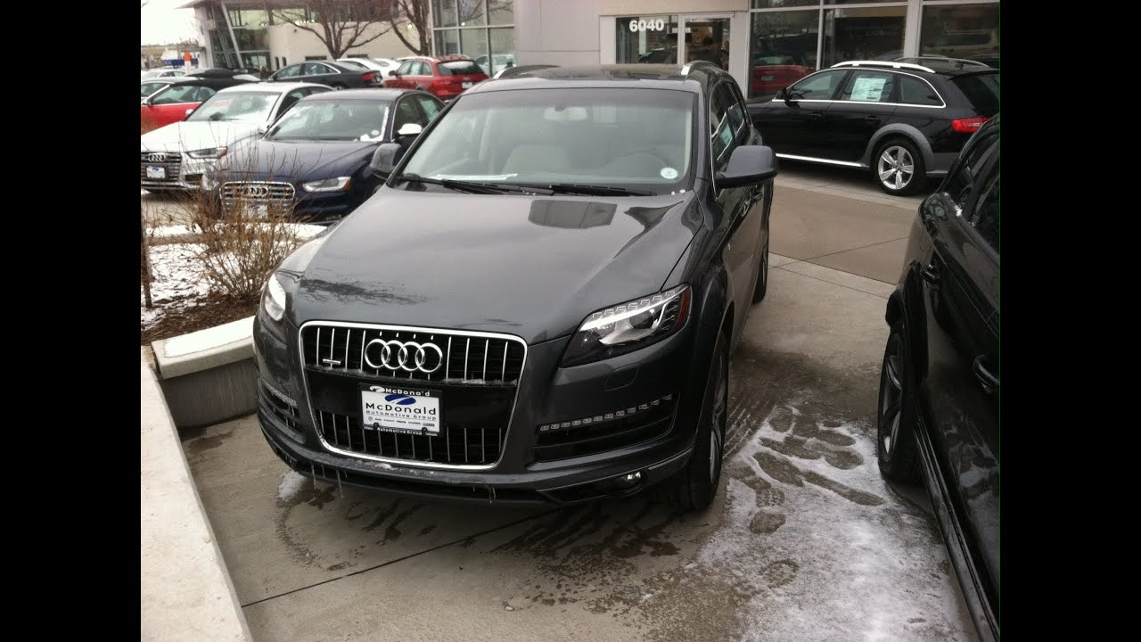 2014 Audi Q7 3.0T Quattro Premium Plus (Start Up, In Depth Tour, and ...