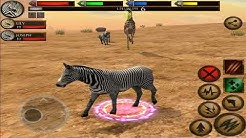 🦓Zebra Horse Survival Simulator 3D, Ultimate Savanna Simulator, By Gluten Free Games