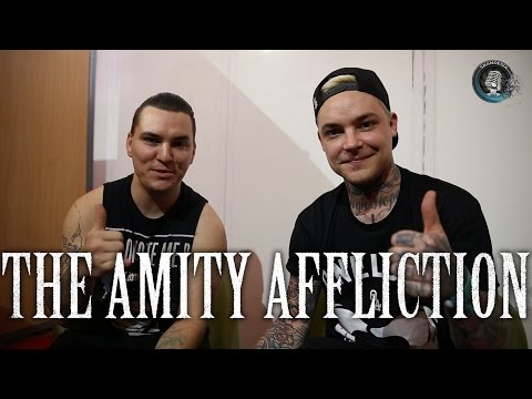 Interview THE AMITY AFFLICTION, Ahren Stringer & Dan Brown - Hellfest 2016 (french subtitles)